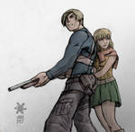 Resident Evil 4 by chilin