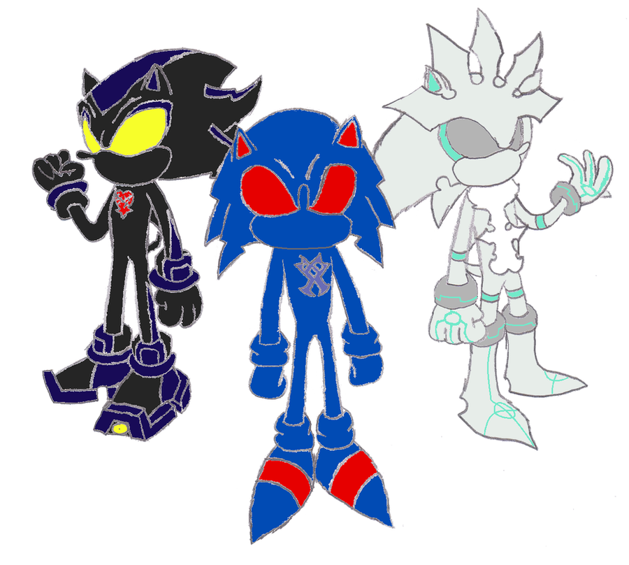Heartless Sonic Characters Hedgehog to Heartless ...