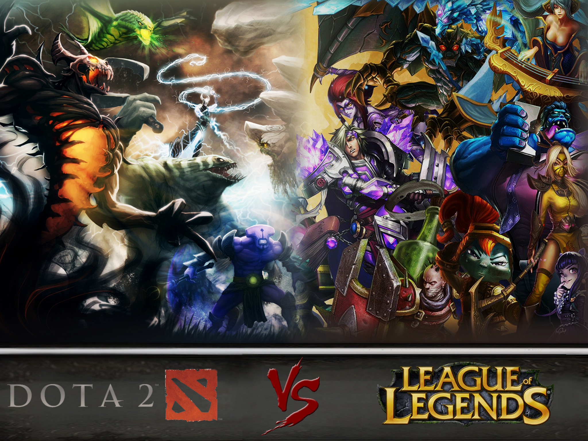which is better the moba games league of legends or dota2 raptr