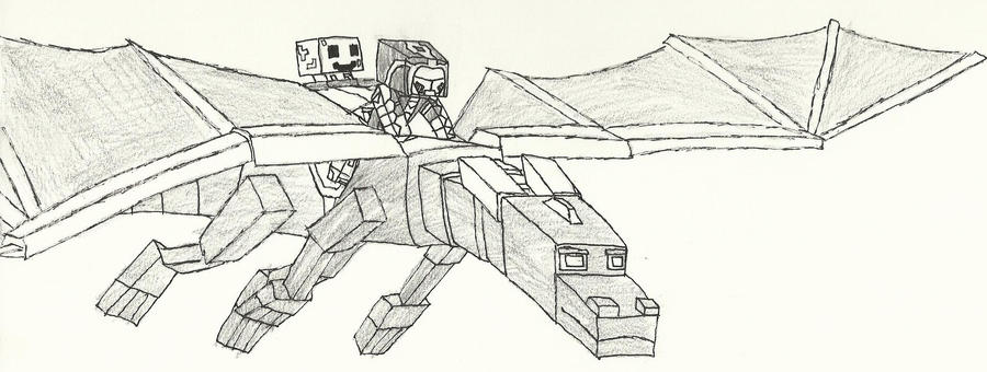 minecraft coloring pages ender dragon - photo#31