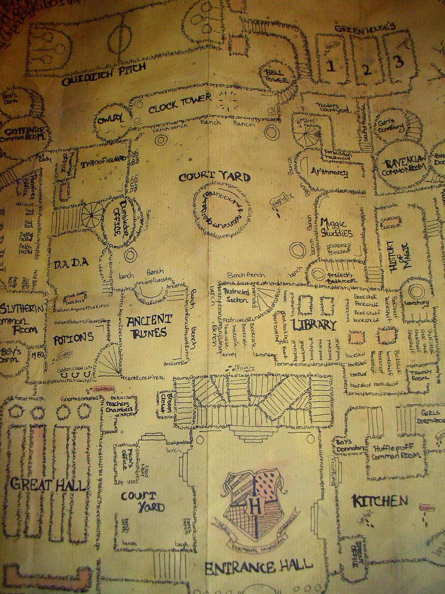 marauders map by samanthafay1987