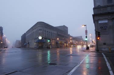 Downtown Oshkosh by distraughtsasha