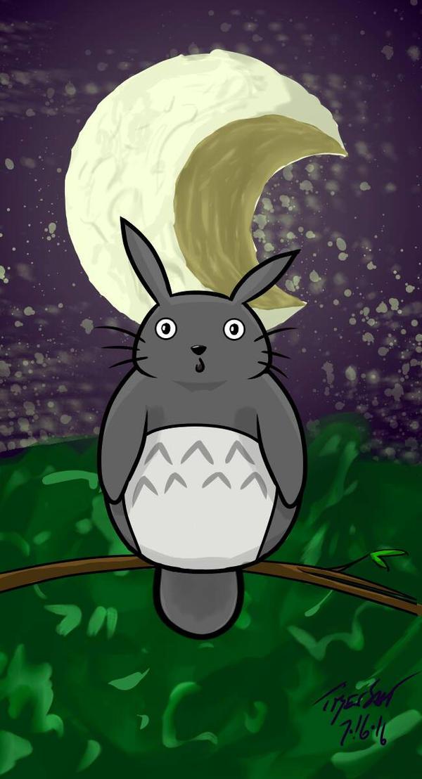 Totoro by StoneBengal