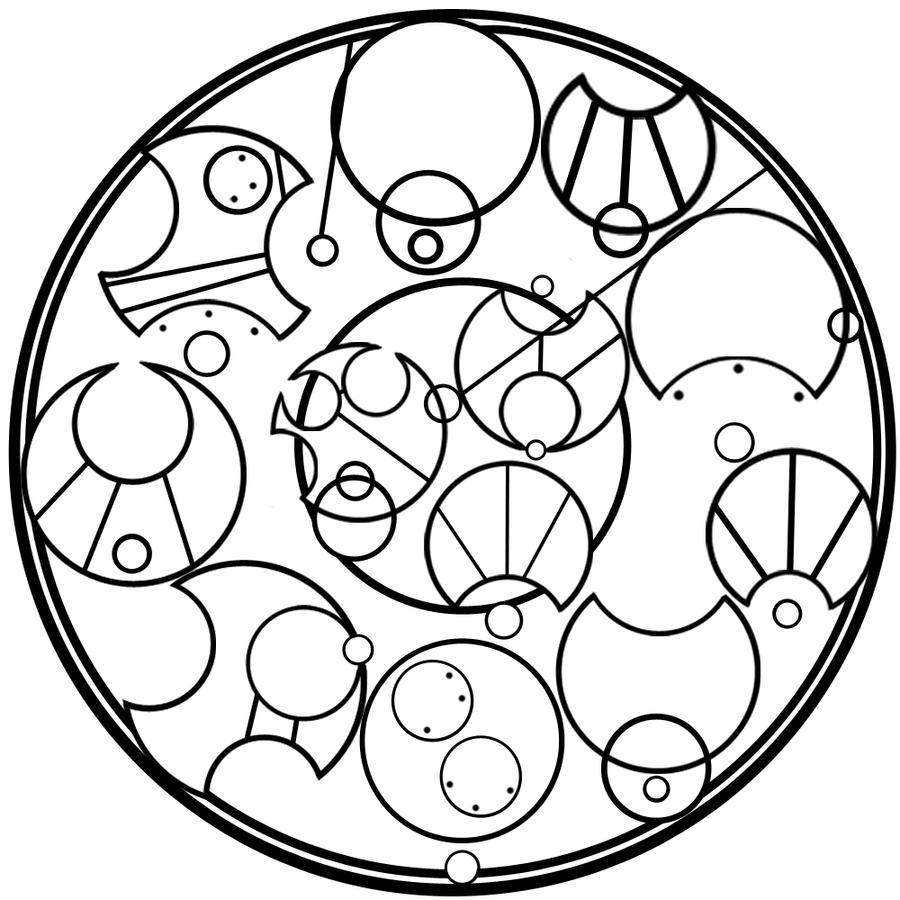 gallifreyan symbols wallpaper - photo #30