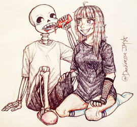 Sans and me
