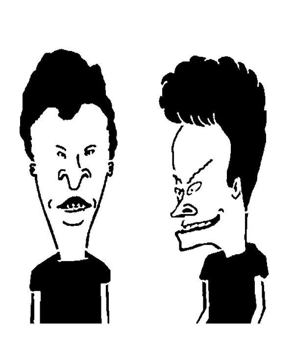 Beavis And Butt-Head Monoprint By Long-Face On Deviantart-2551
