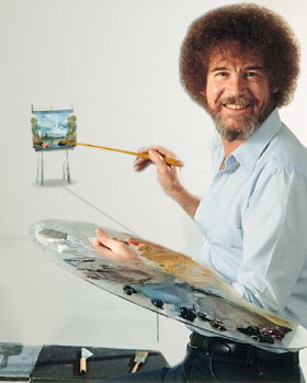 Bob Ross Painter of Distance by Long-Face