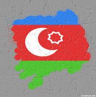 Azeri Flag by NamfloW