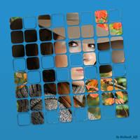 Girl in square by NamfloW