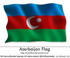 Azerbaijan_Flag by NamfloW