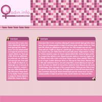 Woman Web Interface by NamfloW