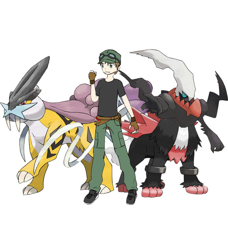 Realistic pokemon splice team by vanitusgamer