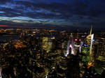 New York City from the Empire State Building