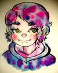 Watercolor + sugar :3