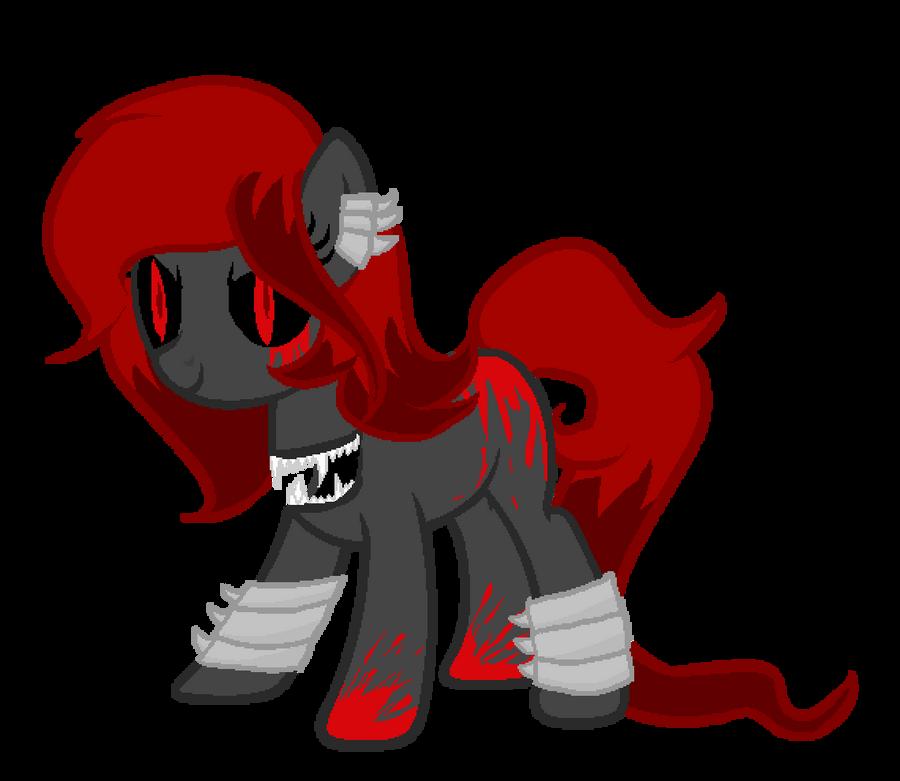 MLP - Adopt - Creepy Pony [CLOSED] by CindryTuna