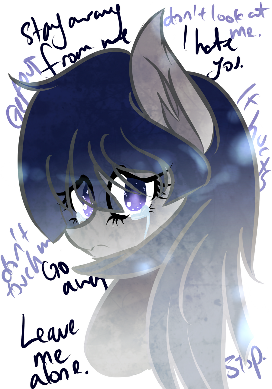 MLP - Weepy Woe Messages by CindryTuna