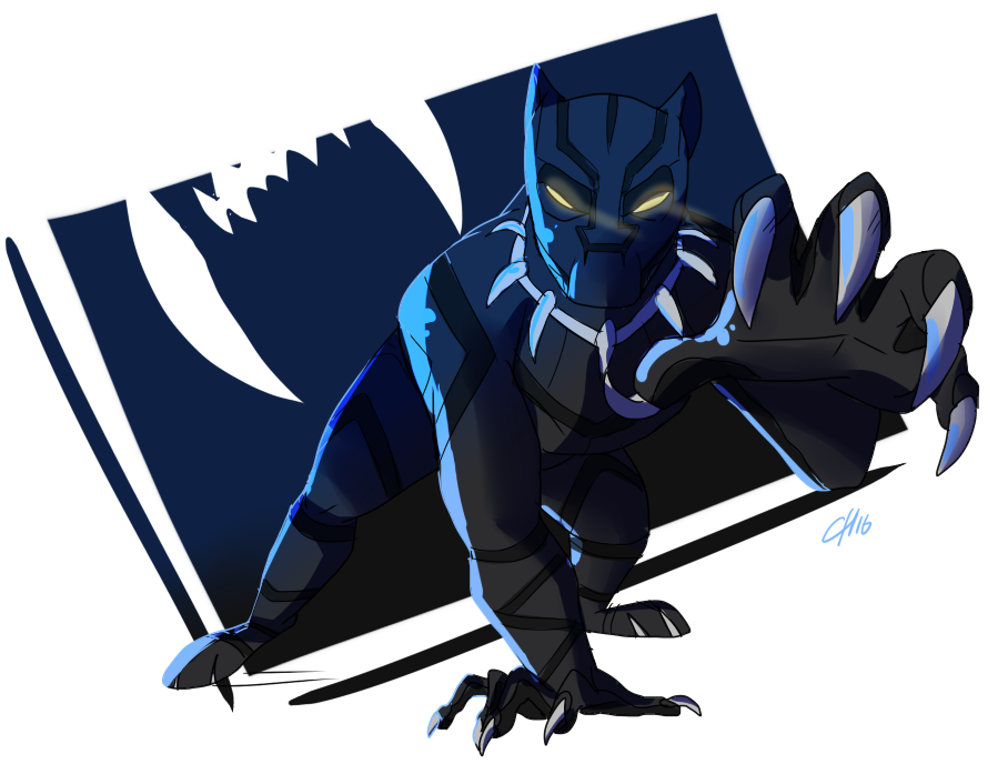 Black Panther By Portela On Deviantart: BLACK PANTHER By Shillyyshally On DeviantArt