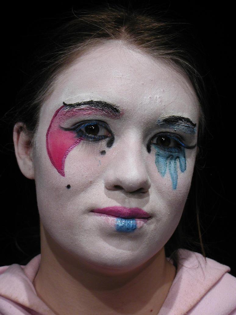 clown make up harlequin by ladyneanna2008 on deviantart. Black Bedroom Furniture Sets. Home Design Ideas