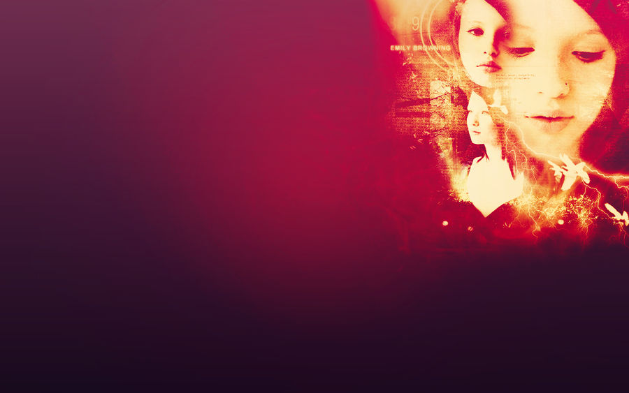 Emily Browning Wallpaper by melimeart