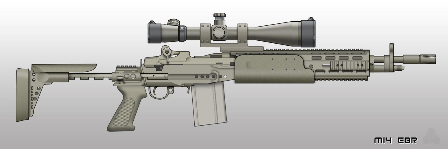 M14 EBR by pabumus on DeviantArt M14 Ebr Rifle