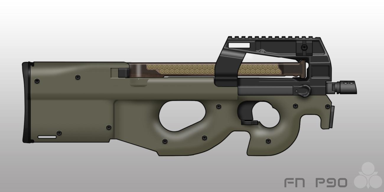 FN P90 by pabumus
