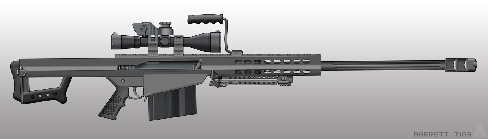 Barrett m107 by pabumus  M107