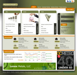 web template for a PIB by designikx