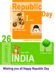 Republic Day India 26 January by designikx