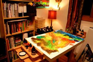 New Studio 1 by peggymintun