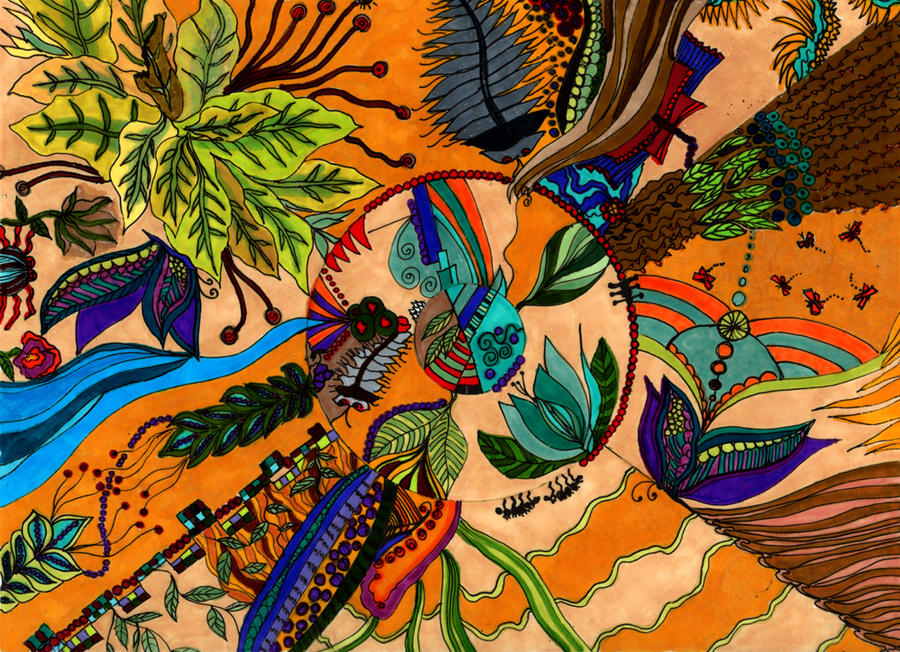 Alien Plants and Creatures 2 by peggymintun