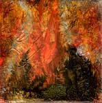 Burning Moss