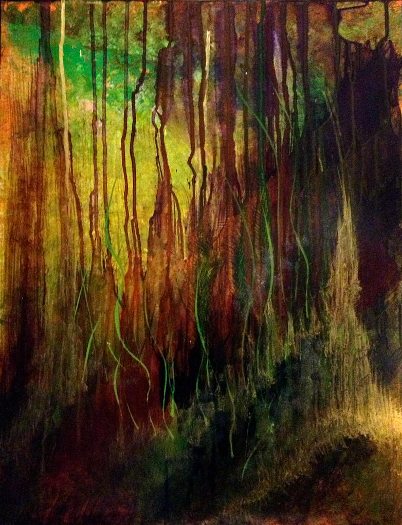Twisted Willow by peggymintun