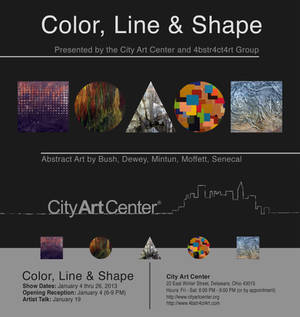 Color Line and Shape Show Card