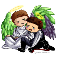 SPN: Angels and Demons by jazphantom