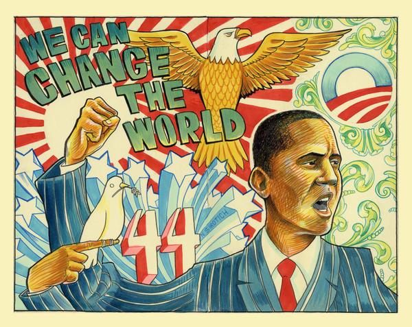 Obama by NickSirotich