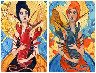 lobster ladies by NickSirotich