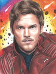 Peter Quill (colored pencils)