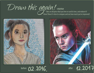 Draw This Again (Rey) by MayTheForceBeWithYou