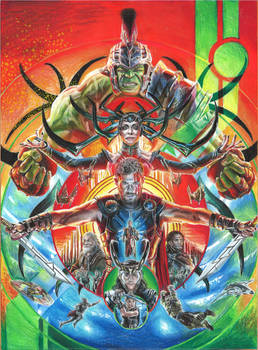 Thor: Ragnarok poster (THANK YOU FOR 408 WATCHERS)