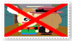 Anti Steamyshipping stamp by Wildcat1999
