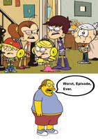 ComicBookGuy hates Brawl in the Family by Wildcat1999