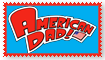 American Dad Fan Stamp by Wildcat1999
