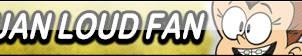 Luan Loud Fan Button by Wildcat1999