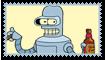Bender Fan Stamp by Wildcat1999