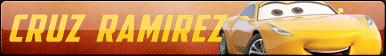 Cruz Ramirez Fan Button