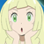 Lillie Surprised Emoticon