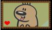 Geo the Hamster Fan Stamp by Wildcat1999