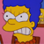 Marge Angry Emoticon
