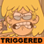 Lori Triggered Emoticon