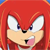 Knuckles Shut up Emoticon